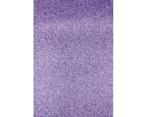 """Фоамиран глиттерный """"Фиолетовый """" 20*30 см, 1 лист"""