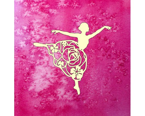 "Чипборд ""Цветочная балерина"", Muscari"