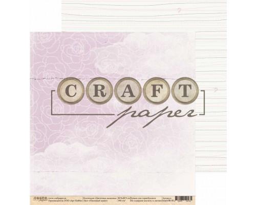 """Бумага двусторонняя серии """"Цветочная вышивка"""" Craft paper"""