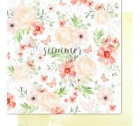 "Бумага двусторонняя коллекции ""Sweet Summer"" SUMMER STUDIO"