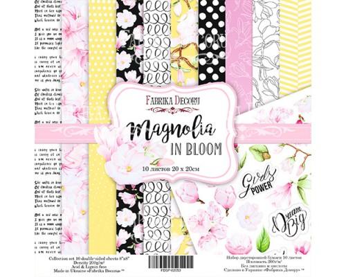 "Набор бумаги ""Magnolia in bloom"", 20*20 см., Фабрика Декора"