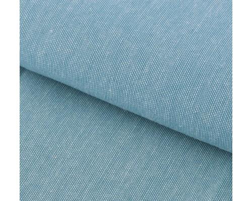 """Ткань под джинс """"Мягкая джинса Бирюзовая"""" 47*50 см"""