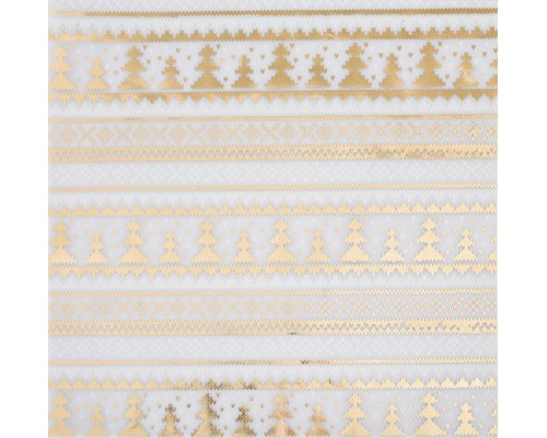 """Калька декоративная с фольгированием """"Теплая зима"""", 30,5х30,5 см, 1 лист, Артузор"""