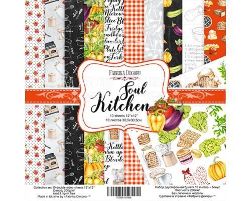 "Набор бумаги ""Soul Kitchen"", 30,5*30,5см., Фабрика Декора"