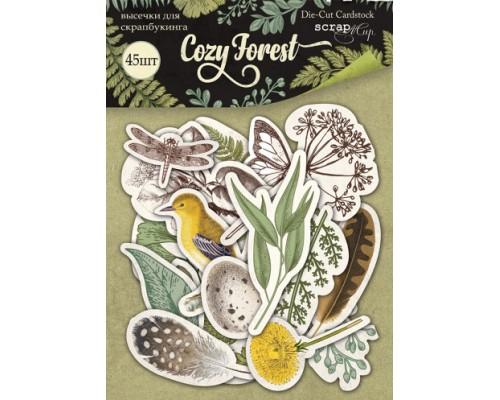 """Высечки бумажные """"Cozy Forest"""" Scrapmir"""