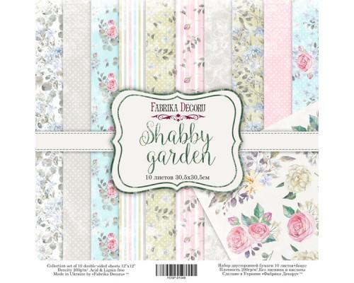 "Набор бумаги ""Shabby garden"", 30,5*30,5см., Фабрика Декора"