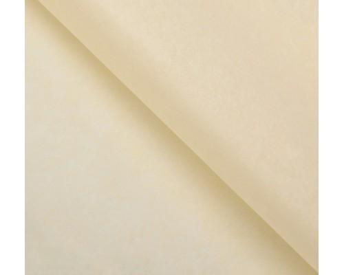 """Бумага упаковочная тишью """"Ваниль"""" 50 см х 66 см, 10 листов"""