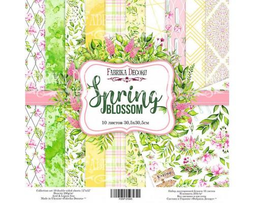 "Набор бумаги ""Spring blossom"", 30,5*30,5см., Фабрика Декора"