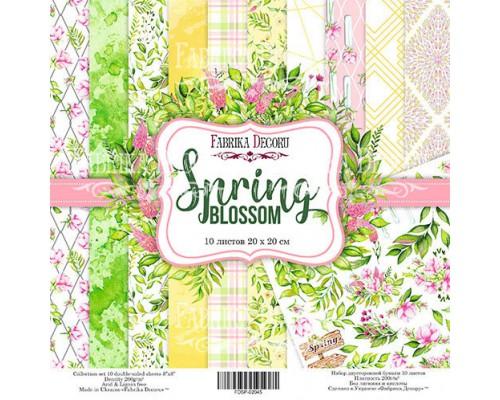 "Набор бумаги ""Spring blossom"", 20*20 см., Фабрика Декора"