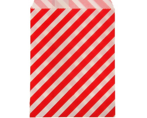 """Пакет фасовочный """"Полоска"""" красный, 13 х 18 см, 1 шт"""