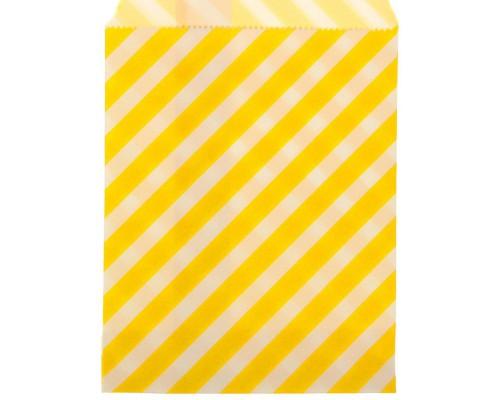 """Пакет фасовочный """"Полоска"""" желтый, 13 х 18 см, 1 шт"""