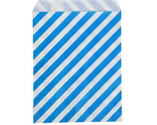 """Пакет фасовочный """"Полоска"""" синий, 13 х 18 см, 1 шт"""