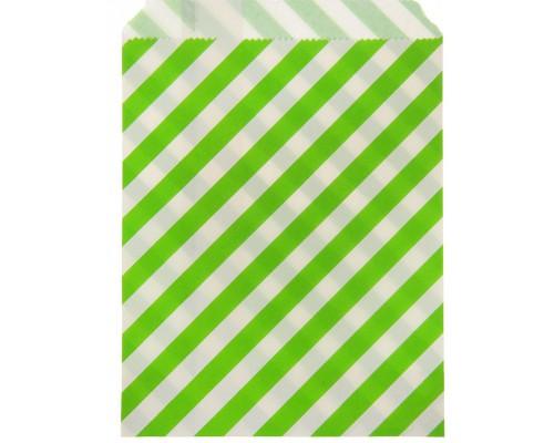 """Пакет фасовочный """"Полоска"""" зеленый, 13 х 18 см, 1 шт"""