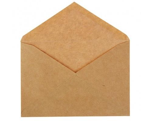 Крафт конверт 11х16см С6