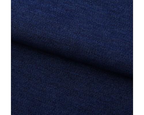"""Ткань под джинс """"Мягкая джинса Темно-синяя"""" 47*50 см"""