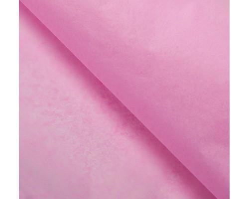 """Бумага упаковочная тишью """"Розовая"""" 50 см х 66 см, 10 листов"""