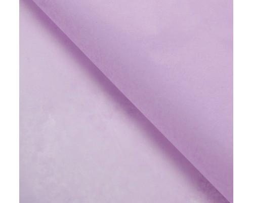 """Бумага упаковочная тишью """"Сиреневая"""" 50 см х 66 см, 10 листов"""