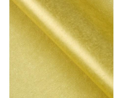 """Бумага упаковочная тишью """"Золото"""" 50 см х 66 см, 10 листов"""