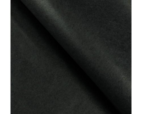 """Бумага упаковочная тишью """"Черный"""" 50 см х 66 см, 10 листов"""