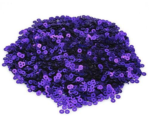 """Пайетки матовый """"Фиолетовый"""", 3 мм"""