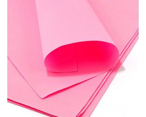 Фоамиран А4 (29,6*21см) * 0,5мм, розовый, 1 шт Китай