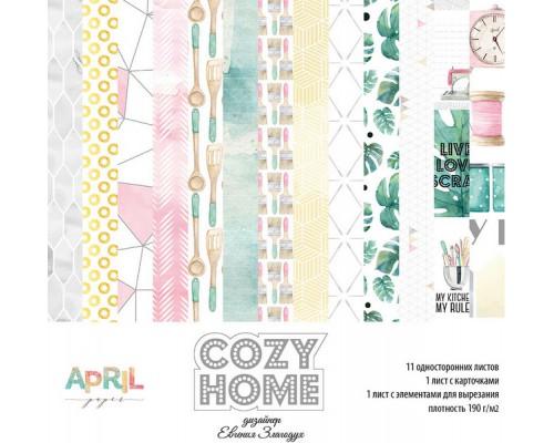 """Набор бумаги """"Cozy home"""" 15*15 см April"""