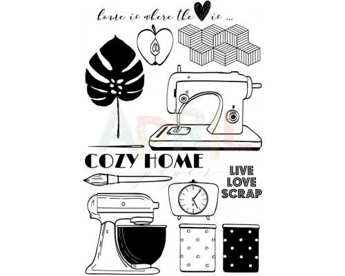 "Набор штампов ""Cozy home"" April"