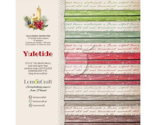 """Набор бумаги """"BASIC Yuletide"""" 30*30 см - 6 листов (1/2 набора) Lemoncraft"""