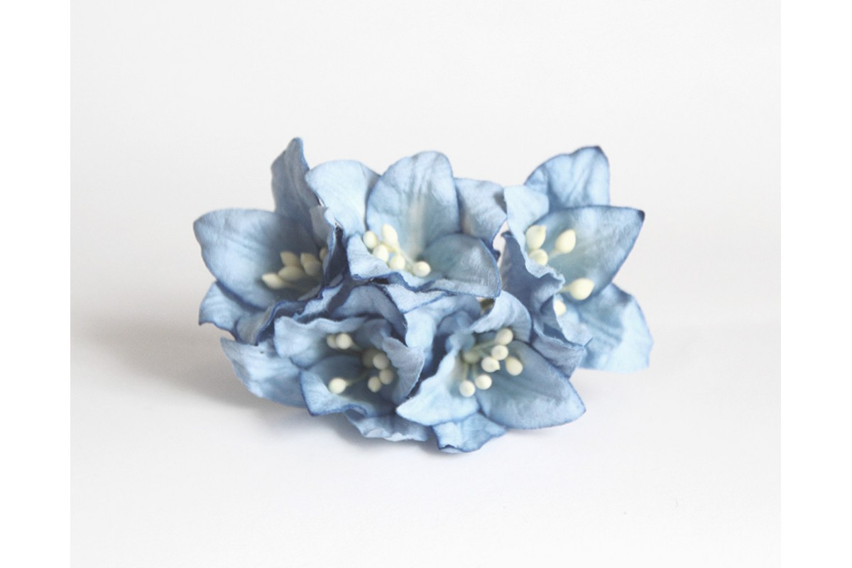 Лилии голубые, 5 шт.