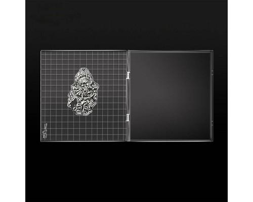 Папка для штампов Stamping Tool 16*15 см