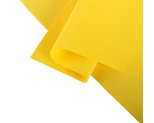 """Лист фоамирана """"Темно-желтый"""" 30*65 Иран"""