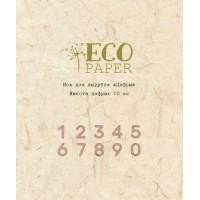 "Нож для вырубки ""Цифры"" от EcoPaper"