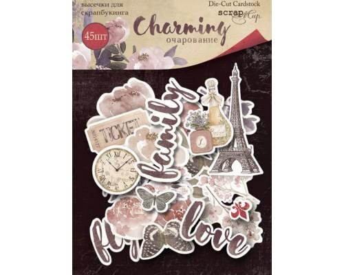 """Высечки бумажные """"Charming (Очарование)"""" Scrapmir"""