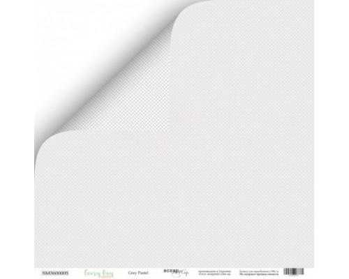 "Бумага двусторонняя коллекция ""Grey Pastel Every Day"" ScrapМир"