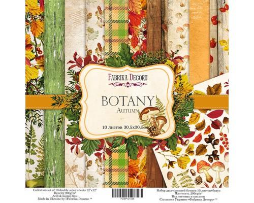 "Набор бумаги ""Botany Autumn"", 30,5*30,5см., Фабрика Декора"