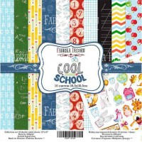 "Набор бумаги ""Cool School"", 30,5*30,5см., Фабрика Декора"