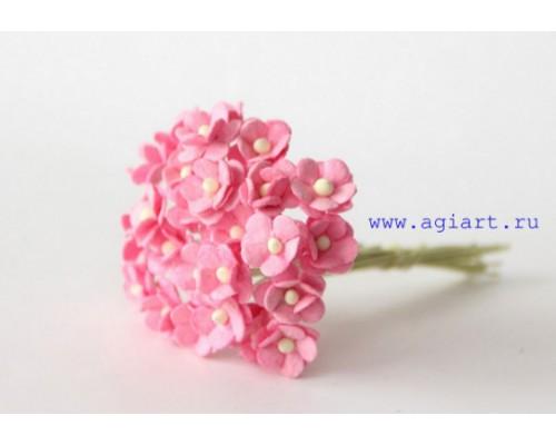 """Цветы вишни МИНИ """"Розовые"""", 25 шт"""