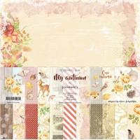 """Набор бумаги """"My autumn"""" 11 листов 30*30см Summer Studio"""