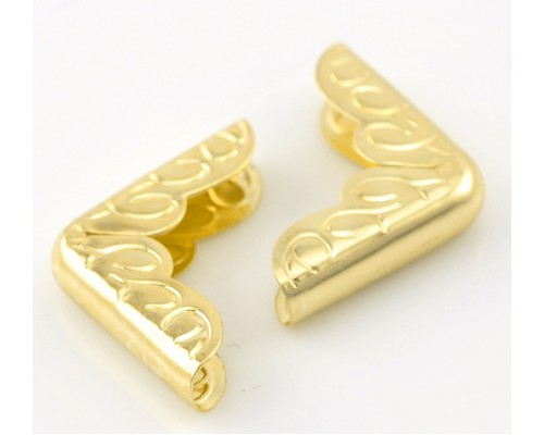 Уголок золото 16*16 мм 1 шт