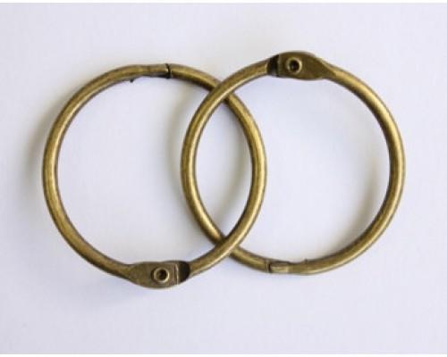 Кольца 5 см. состаренная медь, 2 шт