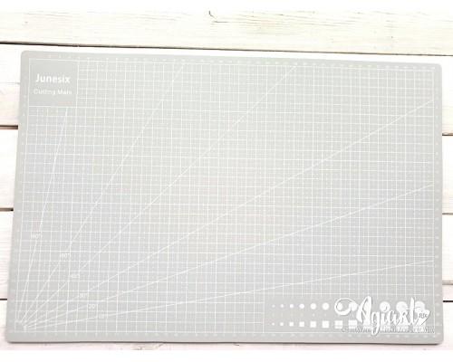 "Коврик (мат) для резки ""Серый"" А3 - 45*30 см."