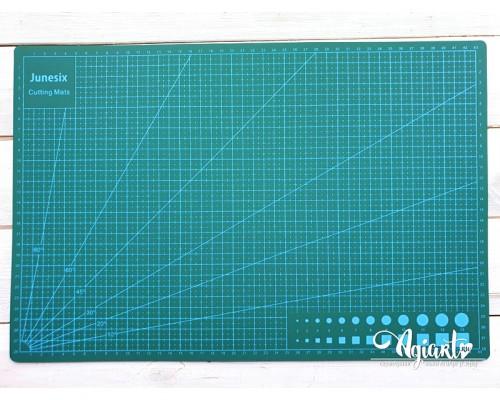"""Коврик (мат) для резки """"Зеленый"""" А3 - 45*30 см."""