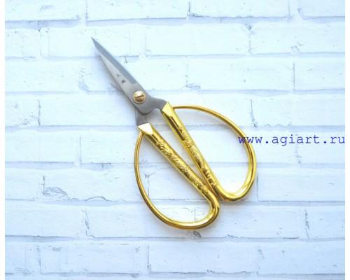 Ножницы позолоченные 13*7 см.