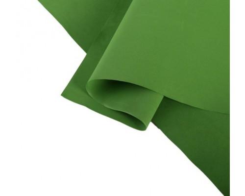 """Лист фоамирана """"Зеленый темный""""  30*65 Иран"""