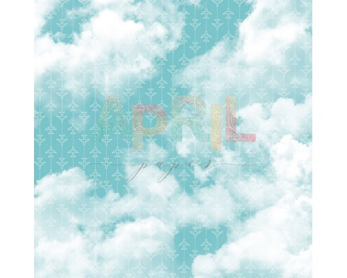 "Бумага односторонняя серии ""TRAVEL more"", 30,5*30,5см., April"