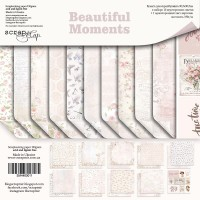 "Набор бумаги 30*30см ""Beautiful Moments"" 10 листов ScrapМир"
