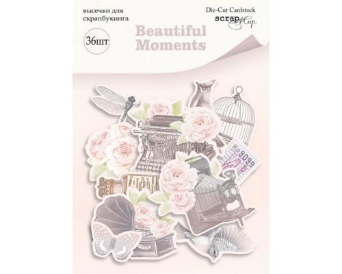 """Высечки бумажные """"Beautiful Moments"""" Scrapmir"""