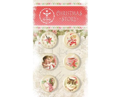 """Набор фишек """"CHRISTMAS STORY"""" Bee Shabby"""