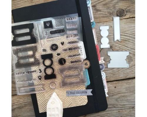 """Набор штампов и ножей для вырубки """"Nota Bene"""" от Mimicut"""