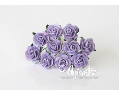 Розы цвет Чертополох 1,5 см, 10шт.